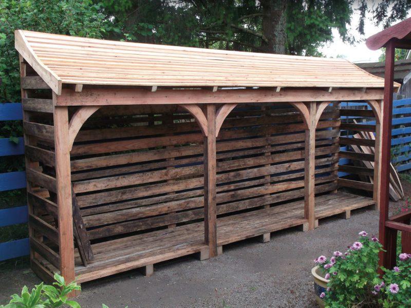 4m3 Capacity Wood Shelter